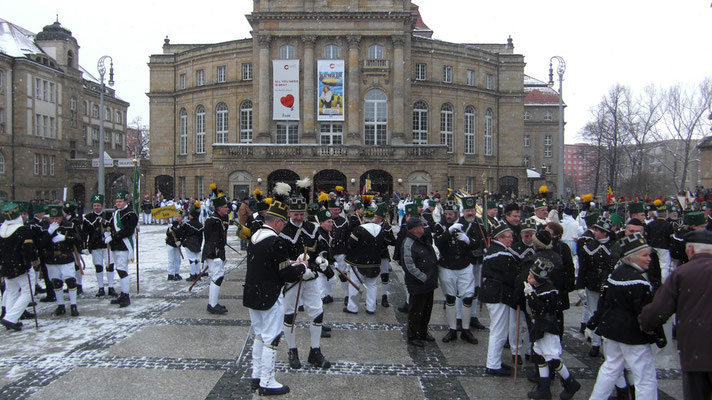 Parade in Chemnitz am 27.11.2010
