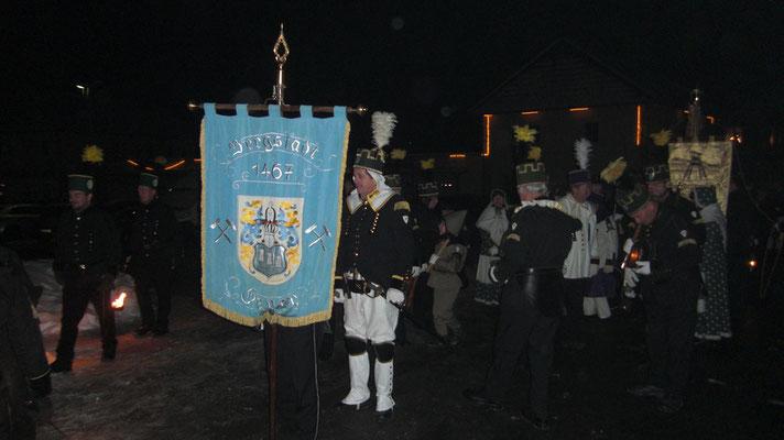 Parade in Zwönitz am 27.11.2010