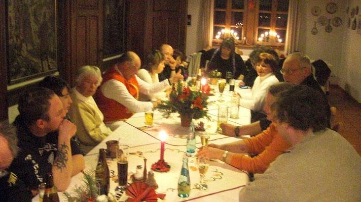 Weihnachtsfeier im Huthaus 2010