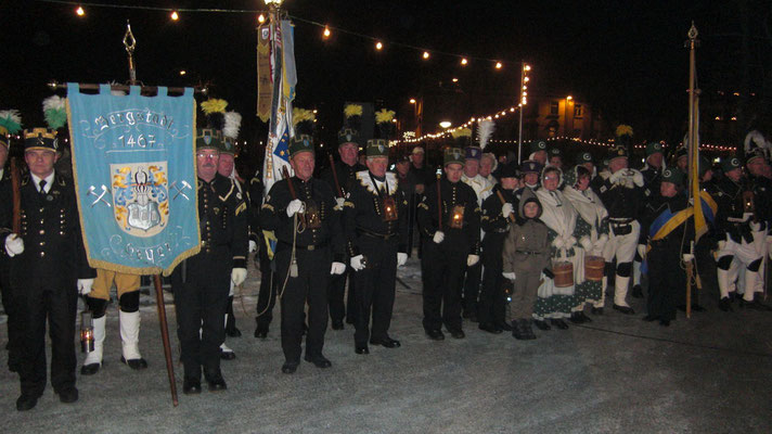 Parade in Thum am 28.11.2010