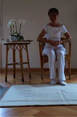 Yogastunde mit Susy Heim