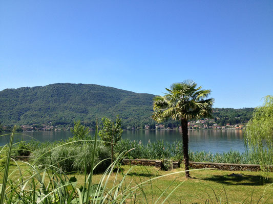 Foto Yoga-Sommerschule Ponte Tresa Blick auf den Luganersee