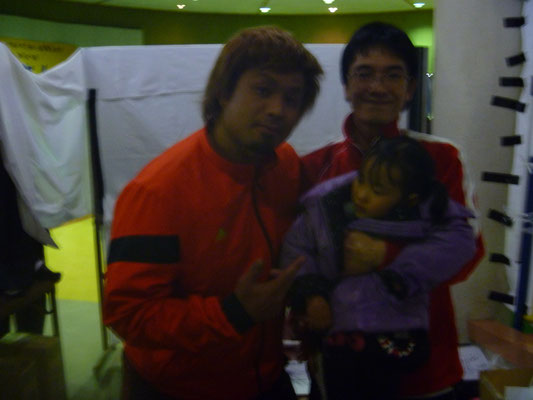 新日本プロレス吉橋選手との写真