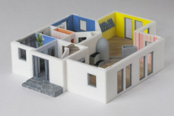 Architekturmodellbau 3D-Druck