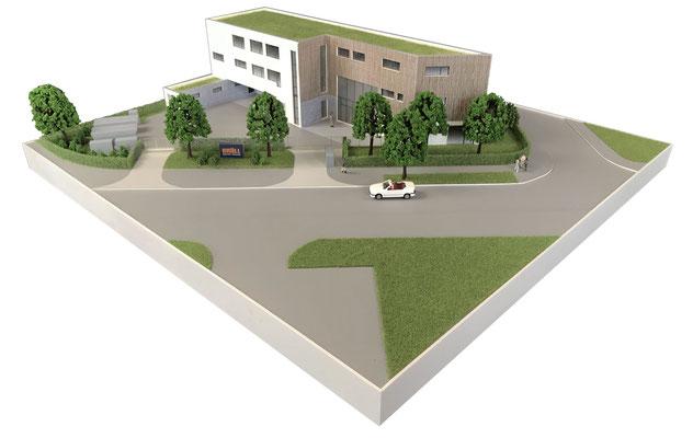 Architekturmodell 3D-Druck