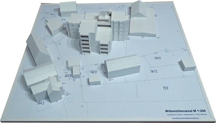 3D-Druck Architekturmodelle