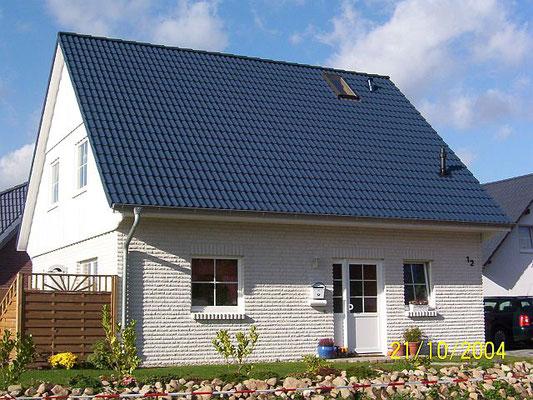 Landhaus mit weissem Klinker in Geesthacht