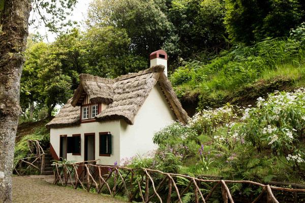 Altes Haus bei Queimadas.