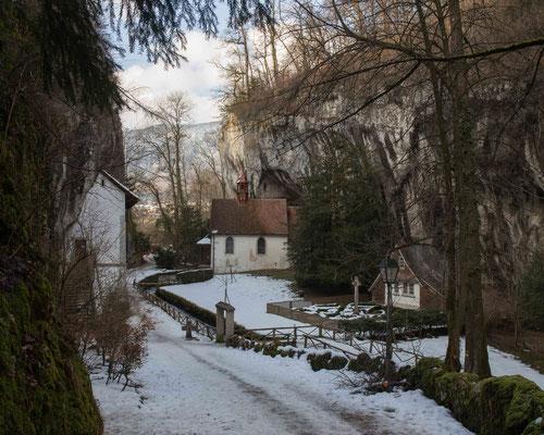 Die Einsiedelei in der St. Verenaschlucht bei Solothurn