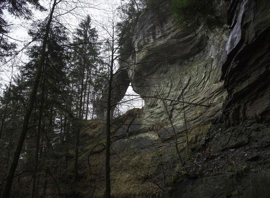 Der Zwingherrenbogen im Schlosschälen