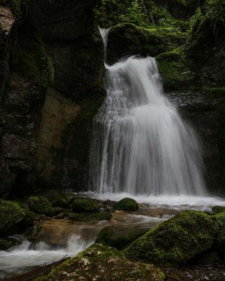 Pouetta Raissa ist eine kleine Schlucht im Val de Travers im Neuenburger Jura