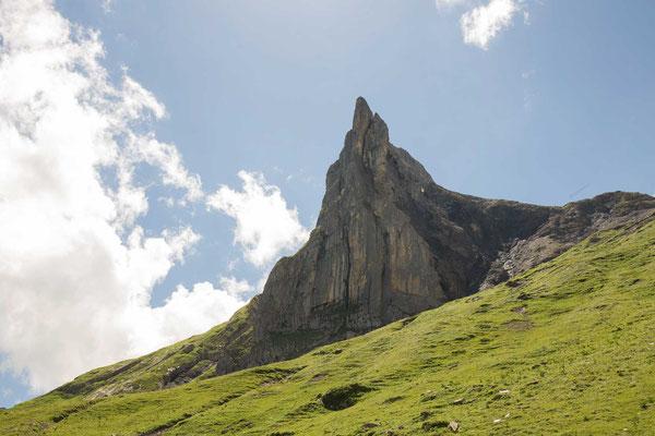 Das Spaltenhorn vom Soustal aus gesehen