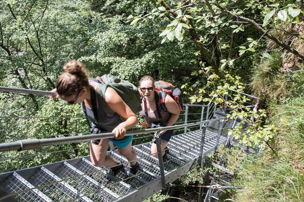 Aufstieg zum Leiternweidli Simmental