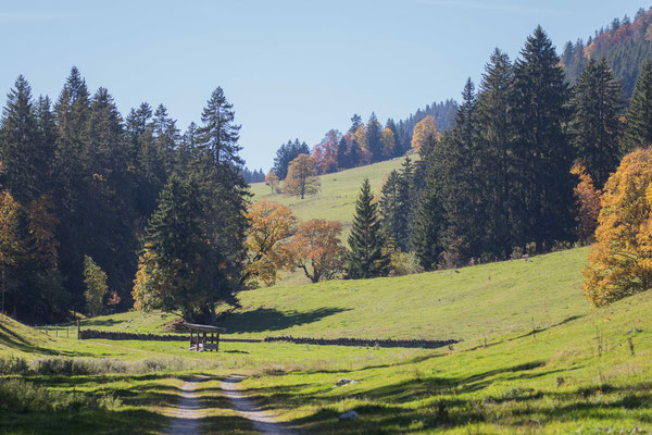 Seitental im Naturpark Chasseral