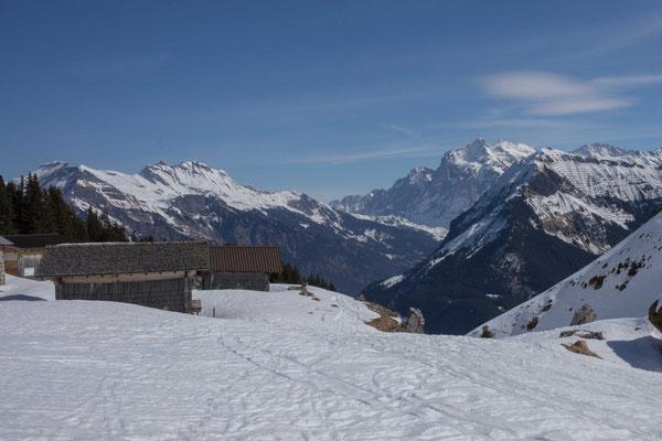 Die Alp Suls im Winter