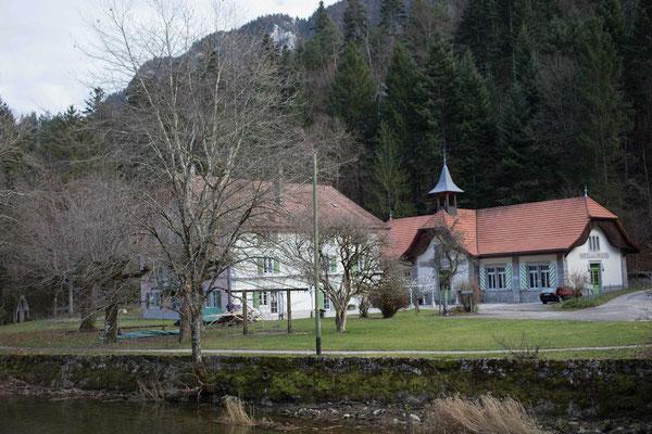 Das Restaurant de La Truite in Champ du Moulin
