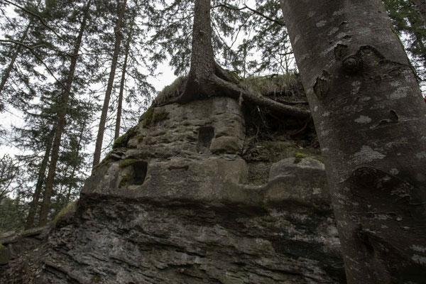 Der Druidenaltar im Schwarzwassergraben