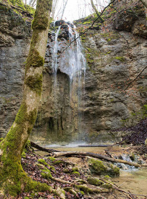 Wasserfall im Vallée d' Engens