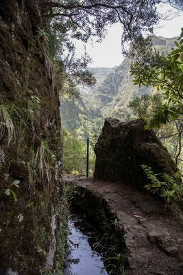 Blick ins Tal des der Ribeira Grande.