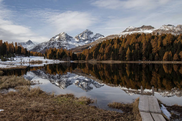 Der Laj da Staz in Celerina bei St. Moritz