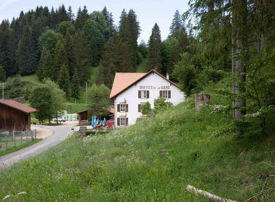 Das abgelegenste Bahnhofbuffet der Schweiz