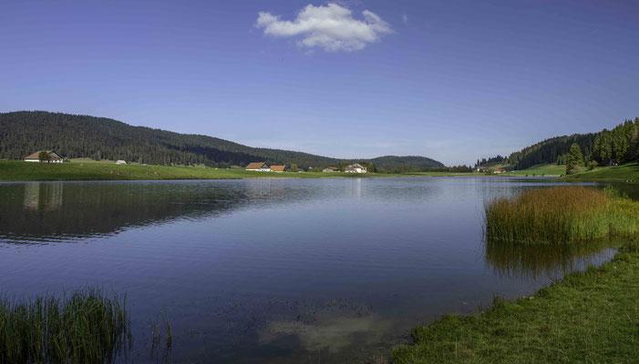 Am Ufer des Lac des Tailléres