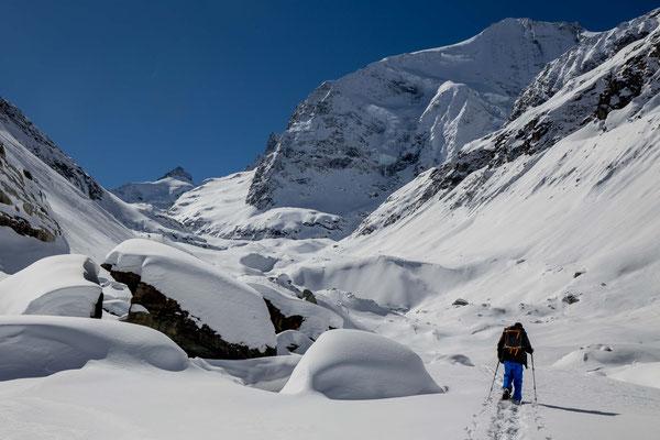 Unterwegs zum Zinalgletscher