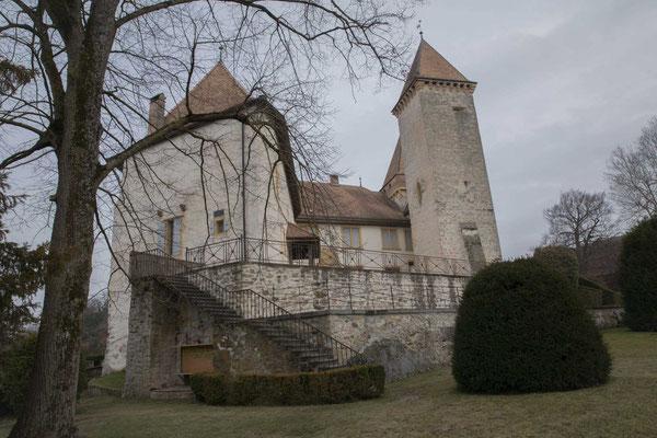 Das Schloss von La Sarraz