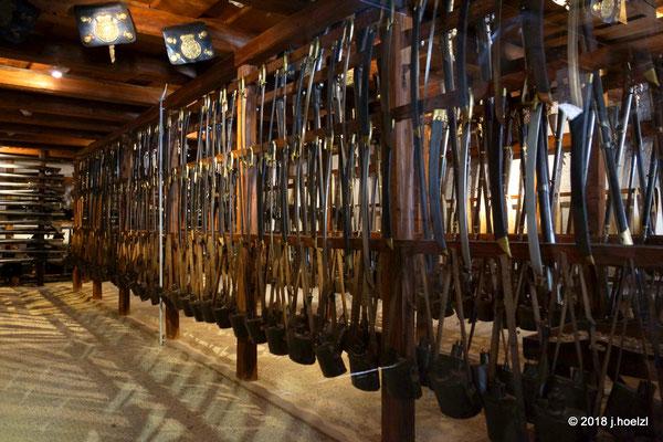 Die Burg Forchtenstein besitzt die größte private Waffensammlung