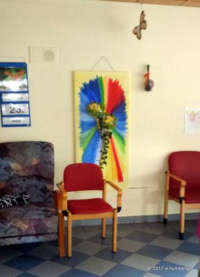 Dieses wunderschönen Bild verbleibt im Alten- und Pflegeheim Waizenkirchen