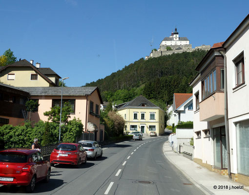Die mächtige Burg Forchtenstein - sie wurde nie erobert!