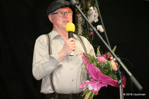 Obmann Ing. Johann Zimmerer bedankt sich
