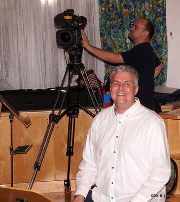 Unser Chorleiter Richter Grimbeek