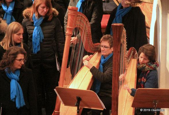Andrea Scheiterbauer, Harfe