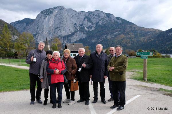 Abordnung aus Paudorf bei Göttweig