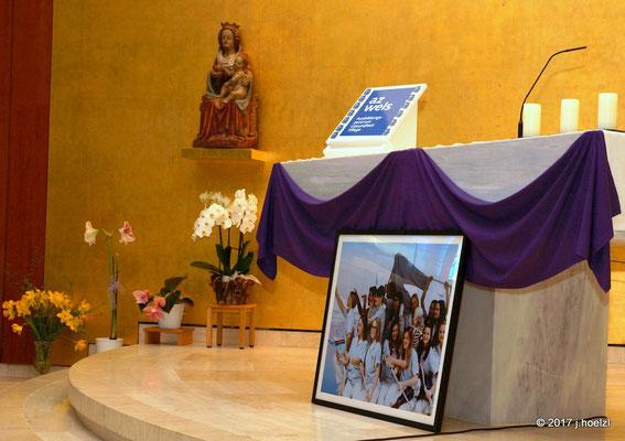 Wortgottesdienst in der Kapelle des Klinikums Wels-Grieskirchen