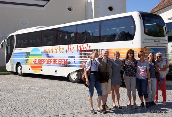 Mittagessen in Stift Heiligenkreuz - Ende unserer schönen Reise!