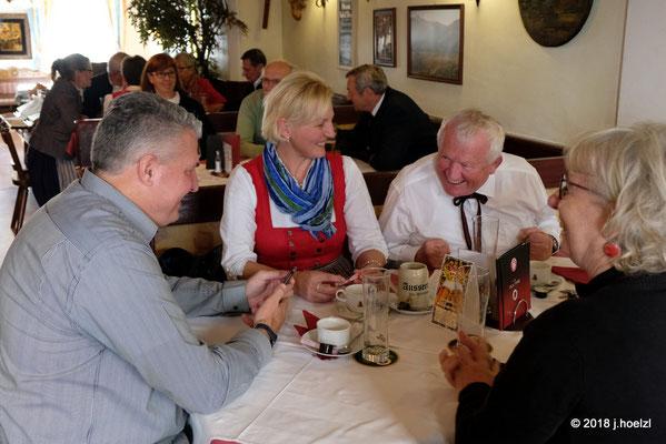 Mittagessen in Aussee, Gh. Ausseer Stube