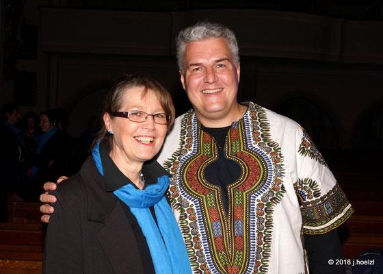 Unser Chorleiter stammt aus Südafrika!