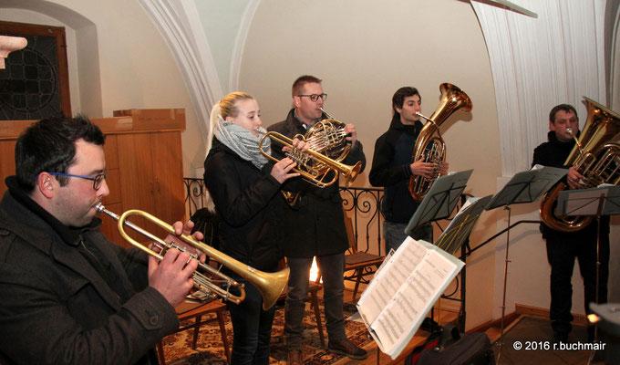 Blechbläserensemble vom Musikverein Waizenkirchen