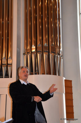 Chorleiter Richter Grimbeek