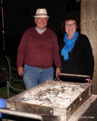 """Willi bereitete eine köstliche """"Kistensau"""" zu - Danke!"""