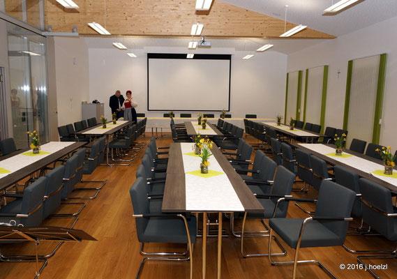 Der neue Sitzungssaal der Gemeinde Waizenkirchen
