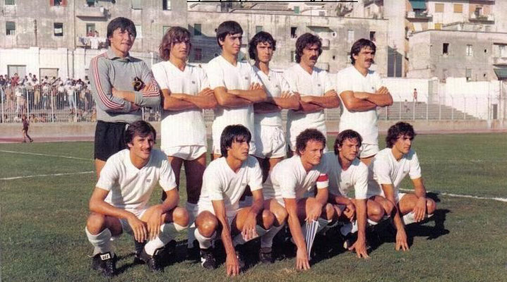 Formazione Salernitana 1980 - 1981