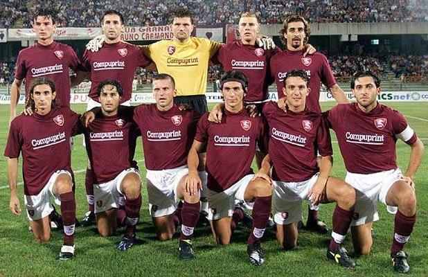 Formazione Salernitana 2000 - 2001
