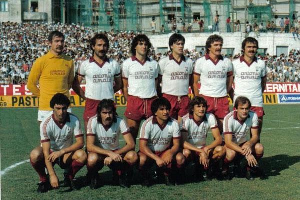 Formazione Salernitana 1982 - 1983
