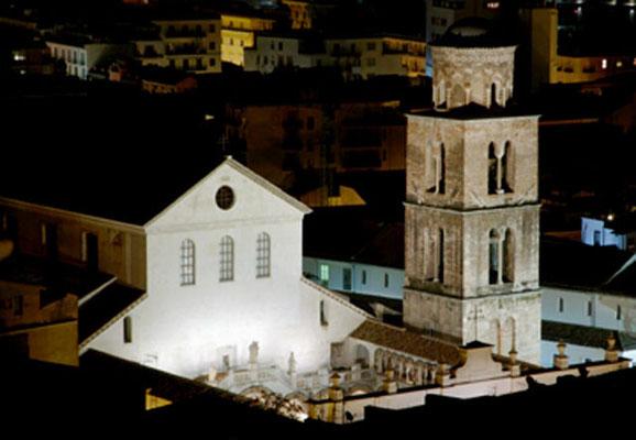 Duomo di Salerno di notte