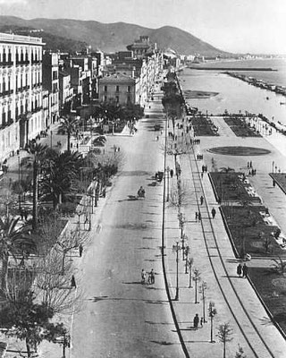 Lungomare Trieste 1950