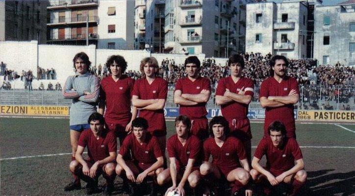 Formazione Salernitana 1979 - 1980