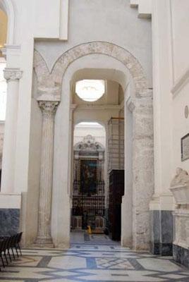 Navata centrale del Duomo di Salerno